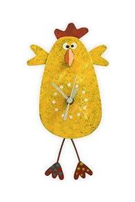 Oxidos Recycled Fair Trade Chicken Clock