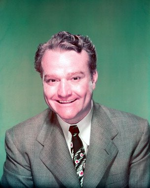 Color photograph of Red Skelton