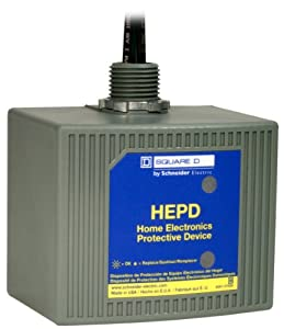 Square D by Schneider Electric HEPD80 Home Electronics Protective Device