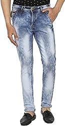 Spuro Men's Slim Fit Jeans_05_Blue_XS