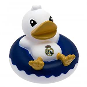 Amazon.com : Real Madrid F.C. Rubber Dinghy Duck- bath time rubber