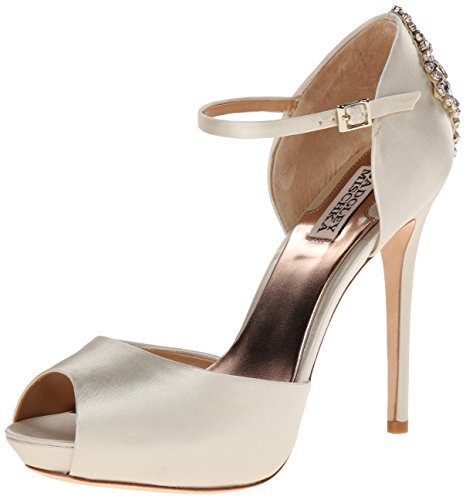 badgley-mischka-gene-women-us-10-silver-mary-janes