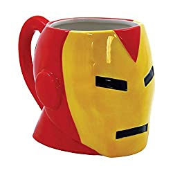 ICUP Marvel's Comics Iron Man Molded Head Ceramic Mug