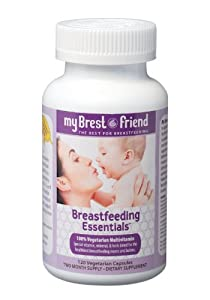 My Brest Friend Breastfeeding Essentials, 120 Vegetarian Capsules