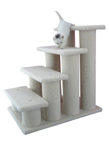 Armarkat Pet Steps, 4-steps, B4001, Ivory