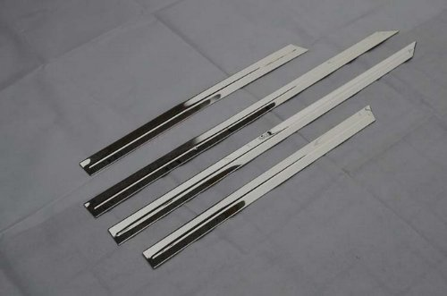 Auto Stainless Steel Body Door Side Molding Trim Chrome 4pcs fit for VOLVO XC60 2010 2011 2012