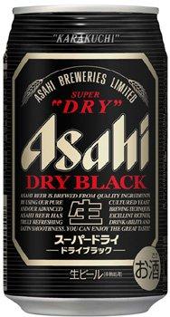 アサヒ スーパードライ-ドライブラック-350ml×24本(1ケース)