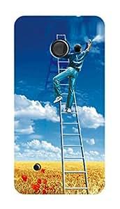 SWAG my CASE PRINTED BACK COVER FORNOKIA LUMIA 530 Multicolor