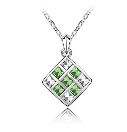 Boxingcat Fine Jewelry Swarovski Style Clear Austrian Crystal Pendant Necklaces Bgca5235 front-1018197