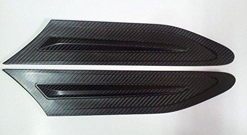 (2) Carbon Seitenschlitze Grill Gitter Fender Air Flow Cover für Subaru BRZ