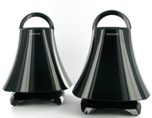 AQ Wireless Indoor/Outdoor speakers - Deluxe Black Black Friday & Cyber Monday 2014