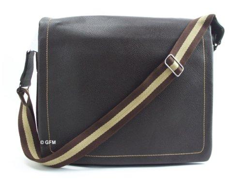 Men's Messenger Bag (CF-9015) Soft Body in Faux Leather Shoulder Bag Office Bag (CF-9015)