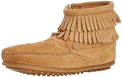 Minnetonka Double Fringe Boot (Toddler/Little Kid/Big Kid)