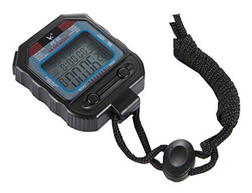 LEAP PC90 Profi-elektronische Stoppuhr 60 Runden Speicher, Split Recallable Athletics Running Zähler, Digital, Timer, Stoppuhr