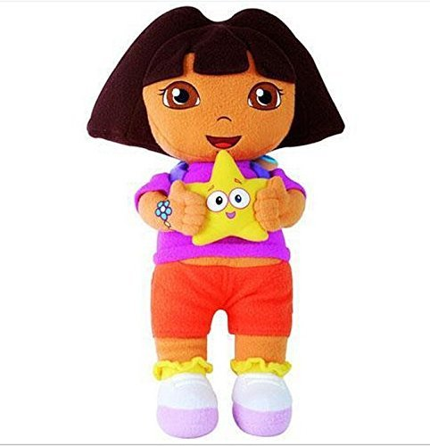 Dora the Explorer Boots Monkey Swiper Fox Dora 9-10 Inch Toddler Stuffed Plush Kids Toys 3 Pcs/set