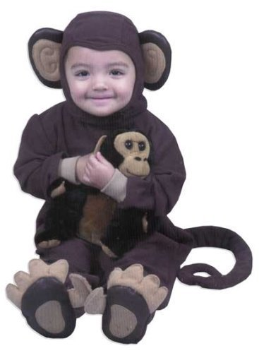 Toddler Monkey Costume -Toddler (2T-4T)