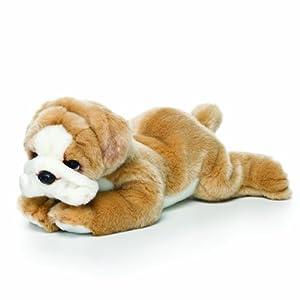 Nat and Jules Plush Toy, Bulldog, Large