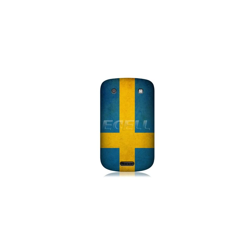 Ecell   HEAD CASE DESIGNS SWEDISH FLAG CASE FOR BLACKBERRY