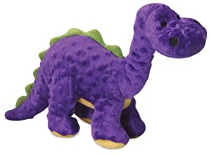 goDog Dinos 770960 Bruto With Chew Guard Technology Tough Plush Dog Toy