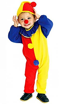 Unisex-child Halloween Costumes Clown Suit Performance Clothing Kids Cosplay