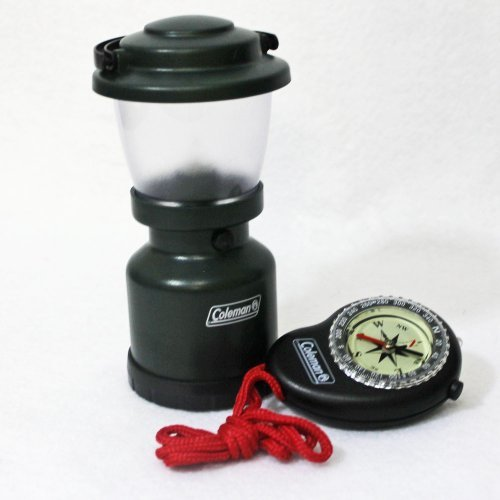 Coleman Mini Camp Lantern With Led Compass Gear Pack