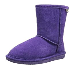 BEARPAW Emma 608T Shearling Boot (Toddler/Big Kid),Violet,9 M US Toddler