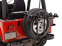 Hollywood Racks Spare Tire Rack (Jeep adapter included)