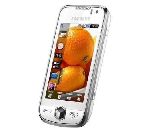 samsung s8000 jet smartphone touchscreen 5mp kamera wlan hsdpa snow white beste angebot. Black Bedroom Furniture Sets. Home Design Ideas