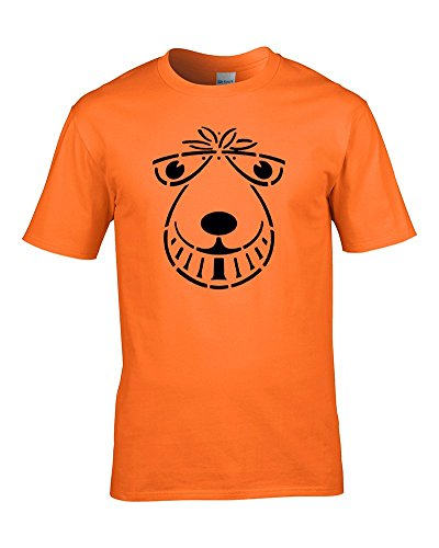 SPACE HOPPER FACE- Classic childrens 1970s toy inspired Men's T Shirt From Fat Cuckoo