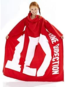 One Direction Fleece Sleeved Blanket by England