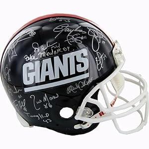 1986 New York Giants Team Signed Proline Helmet 29 Signatures - Steiner Sports... by Sports Memorabilia