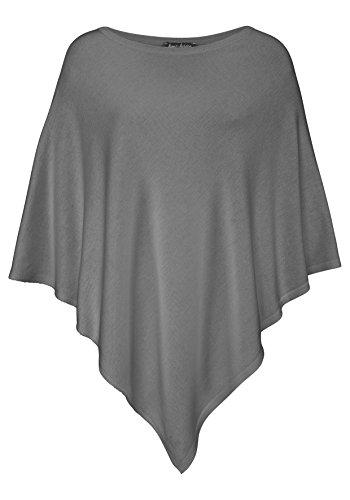 Poncho da donna Kurt Kölln / Mantella Basic grigio chiaro