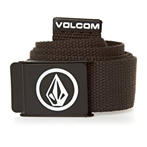 Volcom Circle Stone Web ceinture Charcoal Heather