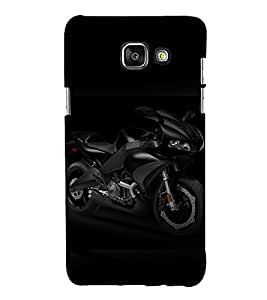 printtech Superfast Bike Back Case Cover for Samsung Galaxy A5 (2016)