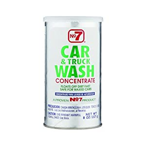 No7 (16140) Car and Truck Wash Powder - 8 oz.