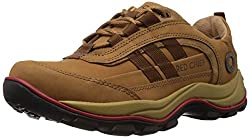 Redchief Mens Rust Leather Trekking and Hiking Footwear Shoes - 10 UK (RC2021 022)