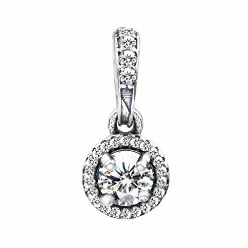 TAOTAOHAS antico sterling 925 argento charms ciondoli pendente beads perline [mondo dei sogni, Crystal Clear] bracciali europeo misura