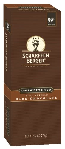 Scharffen Berger Baking Bar, Unsweetened Dark