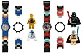 LEGO Kids 9009884 Star Wars Darth Vader Vs. Obi-Wan and C-3P0 and R2-D2 2 Pack Watch Set