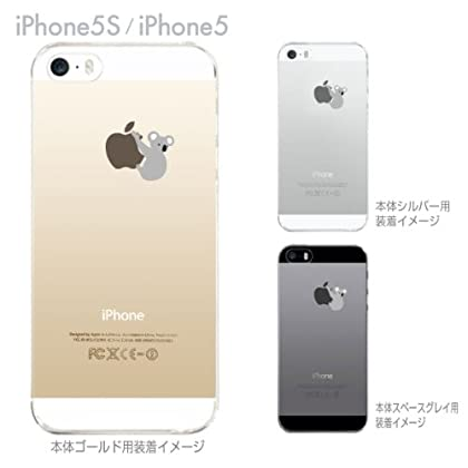 【Clear Arts】【iPhone5S】【iPhone5】【iPhone5ケース カバー】【スマホケース カバー】【クリアケース】【コアラ】 ip5-06-ca0019