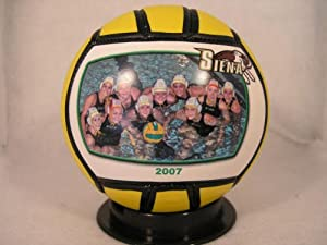 """SYRACUSE UNIVERSITY Fans - Orange Water Polo Ball - Create YOUR personal fan ball, we can print your favorite photo, graphic, and text message on our signature balls in FULL color."