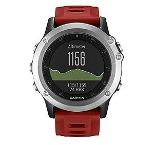 Garmin - Fēnix 3 - Montre GPS Multisports Outdoor - Argent