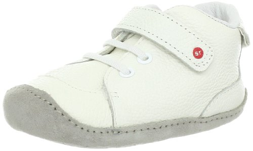 Stride Rite Crawl Cool Kacey Crib Shoe (Infant/Toddler),White,1 M Us Infant front-763405