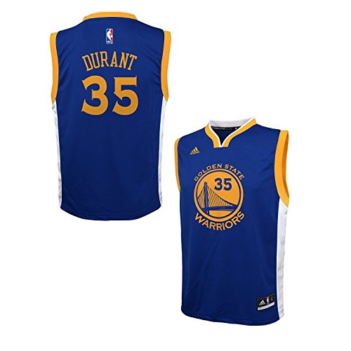 Kevin Durant Golden State Warriors Blue Youth Replica Jersey
