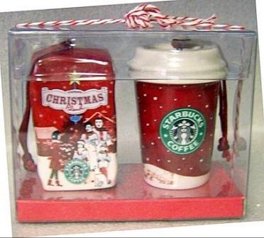 Starbucks Christmas Ornaments