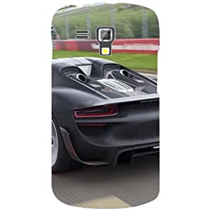Samsung Galaxy S Duos 7582 Back Cover - Racing Car Designer Cases