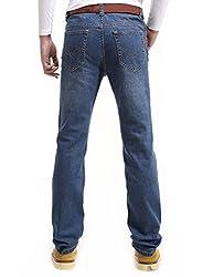 Demon&Hunter III Series Men's Regular Straight Leg Jeans 8004(38)