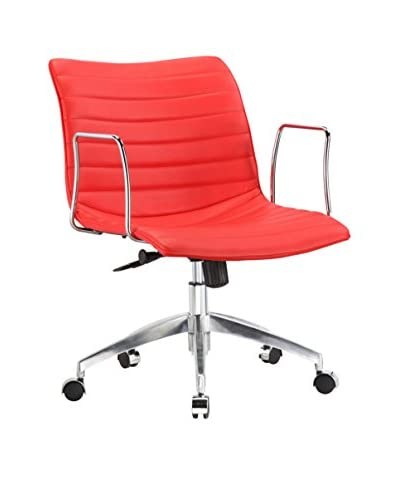 Manhattan Living Mid Back Comfy Office Chair