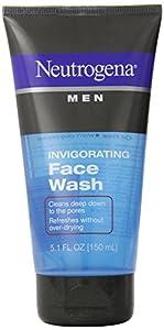 Neutrogena Men Invigorating Face Wash, 5.1 oz.