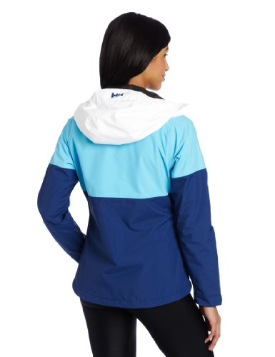 Helly Hansen Women's Vancouver Tricolor Jacket, Bright Sky, X-Large